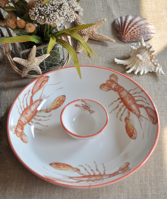 Lobster Dinnerware from Abbiamo Tutto