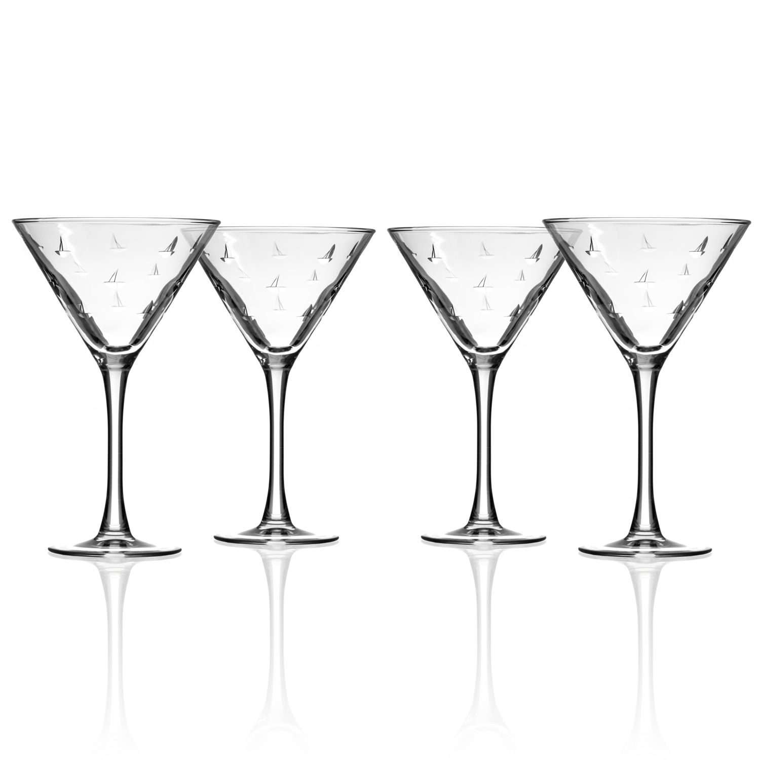 Sailing Martini Glasses