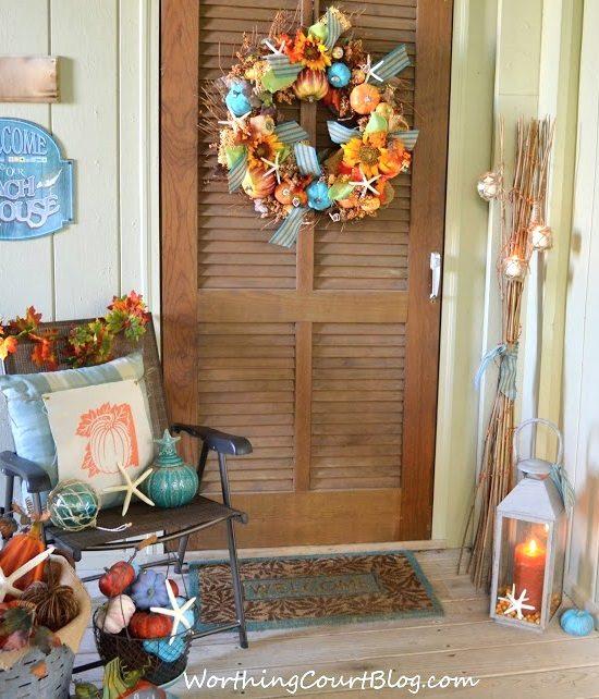 Hgtv Front Door Fall Decorations: Caron's Beach House