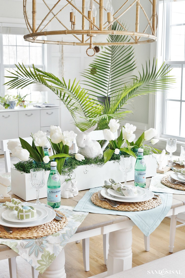 Spring Decorating Ideas For The Home Center Pieces
